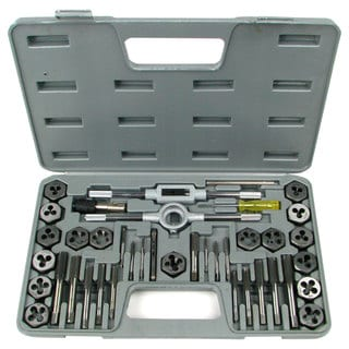 Stalwart 40-piece Premium TAP and DIE UNC and UNF Set