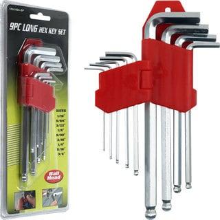 Stalwart 9-piece Allen Wrench Hex Set