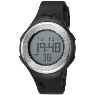 Puma Men's Black Digital Sport Watch