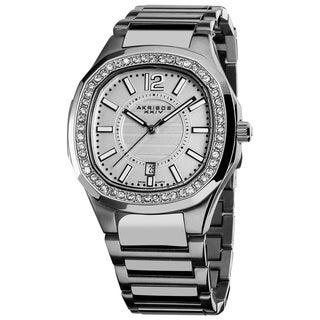 Akribos XXIV Women's Swiss Quartz Stainless Steel Crystal Bracelet Watch