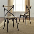 Urban Reclamation Solid Wood Dining Chairs (Set of 2)