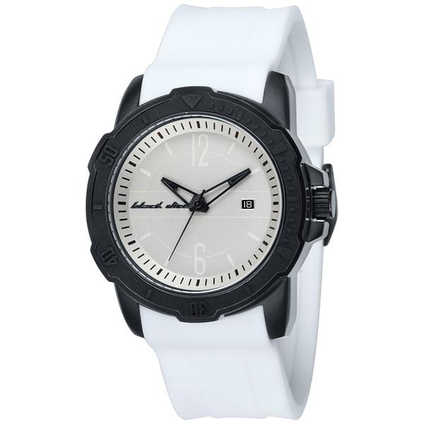 Black Dice Men's Vibe White Silicone Strap Quartz Watch