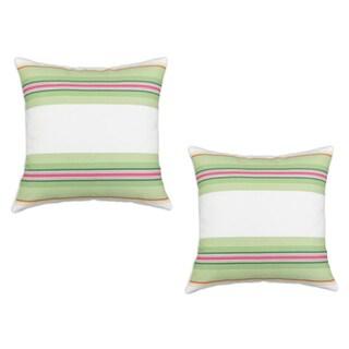 Andari Multicolor Striped 17-inch Decorative Pillows (Set of 2)