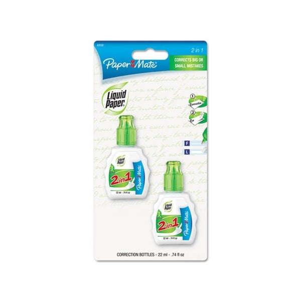 2-in-1 Correction Fluid Combo Pack