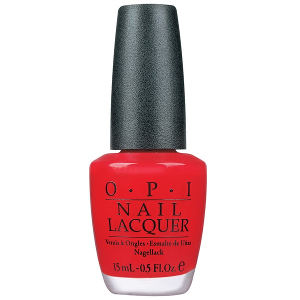 OPI Big Apple Red Nail Lacquer