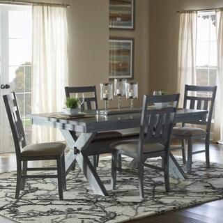 Powell Turino Grey Oak Finish 5-piece Dining Set