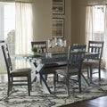 Powell Turino Grey Oak Finish 5-piece Dining Set