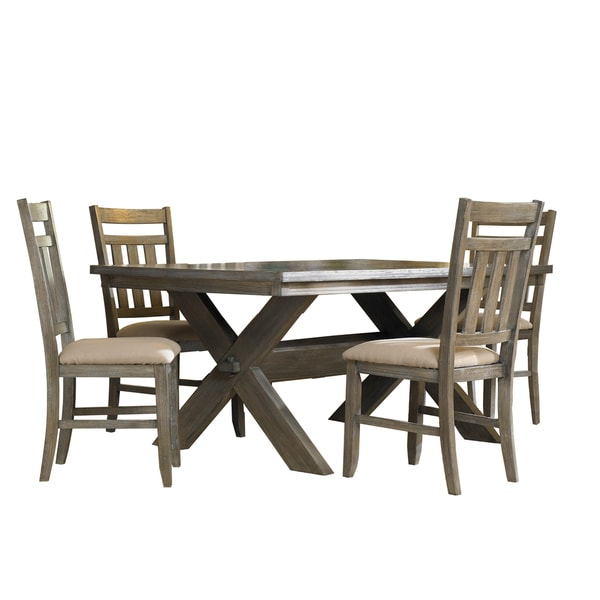 Oh Home 5 piece Chester Dining Set 15132701 Overstock  : Turino Grey Oak Finish 5 piece Dining Set 06bbb571 5ba1 4f64 81bc 07b25e8a74eb600 from www.overstock.com size 600 x 600 jpeg 29kB