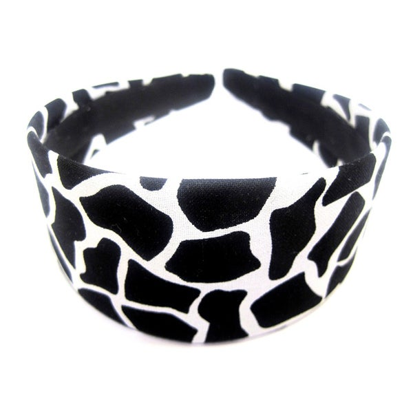 Crawford Corner Shop Black and White Giraffe Print Headband