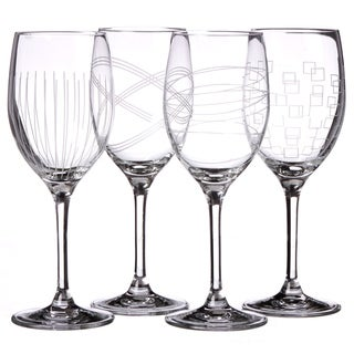 Royal Doulton Party Crystal Goblets (Set of 4)