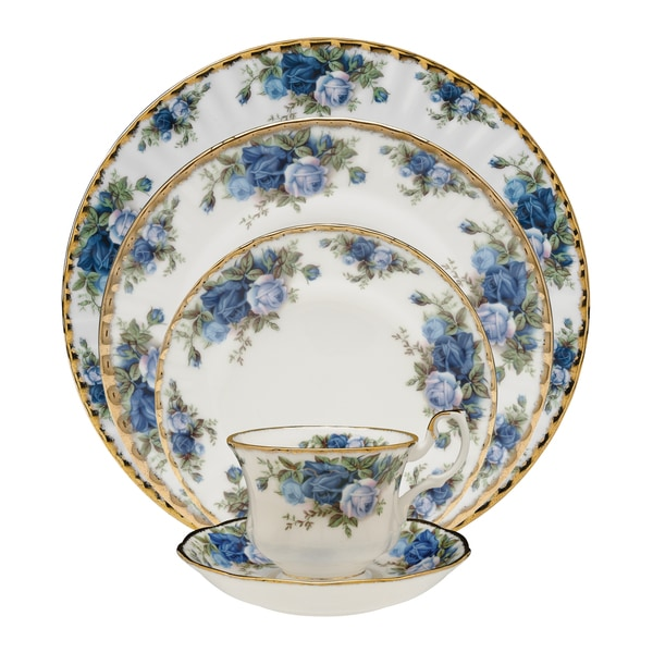Royal Albert Moonlight Rose Five-piece Place Setting