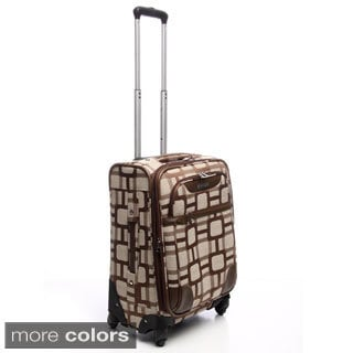 Nine West Super Sign 20-inch Carry On Spinner Upright Suitcase