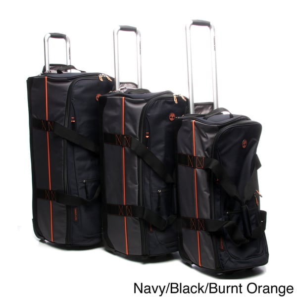 Timberland Claremont 3-piece Rolling Upright Duffel Luggage Set