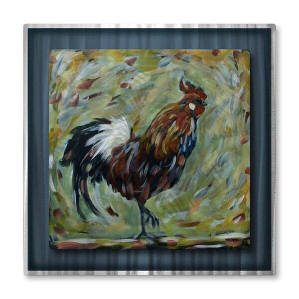 Danlye Jones 'Rooster' Metal Art