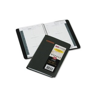 Recycled Black 2013-2014 Weekly Academic Appointment Book