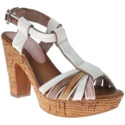 Women's Azura Vianne White Multi Leather
