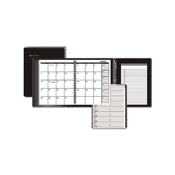 Black 2015 Plus Monthly Planner