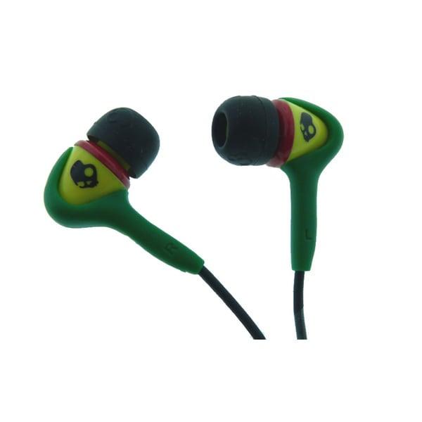 X4GVCZ-810 Skullcandy Rasta Earbuds Headphones