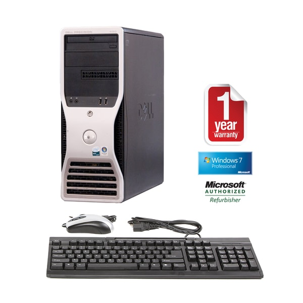 Dell Precision 490 2.0GHz 4GB 1TB Mini-Tower Computer (Refurbished)