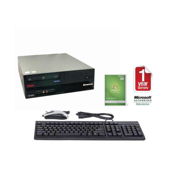 Lenovo ThinkCentre M57 6072 2.33GHz 2048MB 80GB SFF Computer (Refurbished)