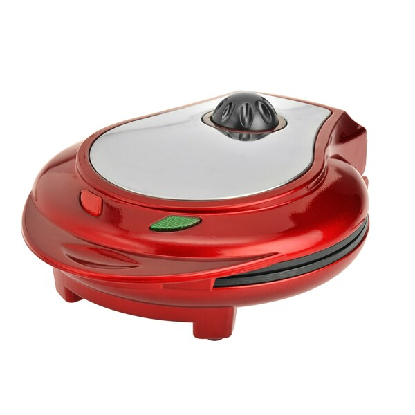 Kalorik Red Heart Shaped Waffle Maker (Refurbished)