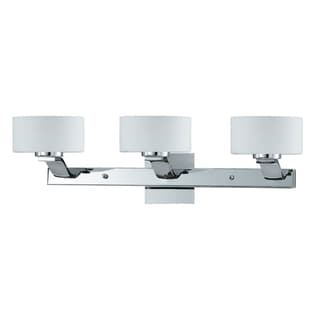Solstice 3-light Chrome Bath and Vanity Light Fixure