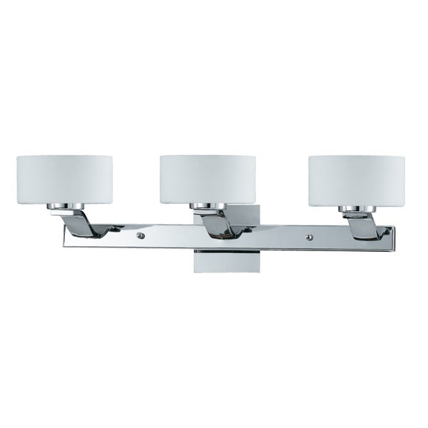 Bathroom Vanity Lights Overstock : Solstice 3-light Chrome Bath and Vanity Light Fixture - 15133247 - Overstock.com Shopping - Top ...