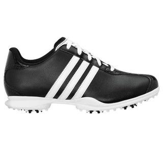 Adidas Women's Driver May S Black and White Golf Shoes