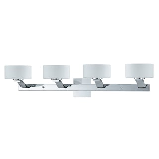 Solstice 4-light Chrome Bath and Vanity Light Fixture