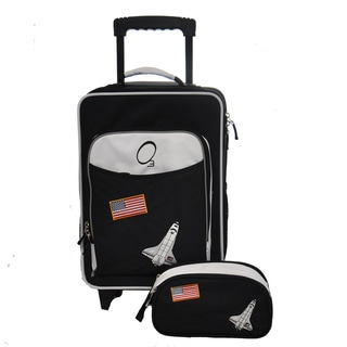 Obersee Kids Space Luggage and Toiletry Bag Set