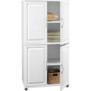 Four Door Storage Cabinet