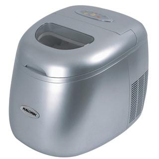 Kalorik Silver Portable Ice Maker (Refurbished)