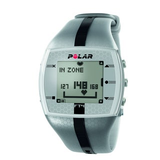 Polar FT4 Silver/Black Heart Monitor