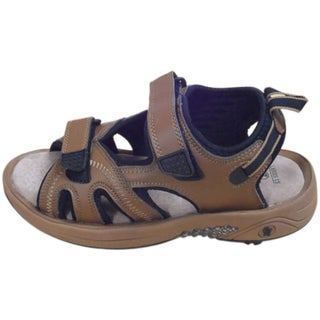 Oregon Mudders Camel/ Black Women's Spiked Golf Sandals