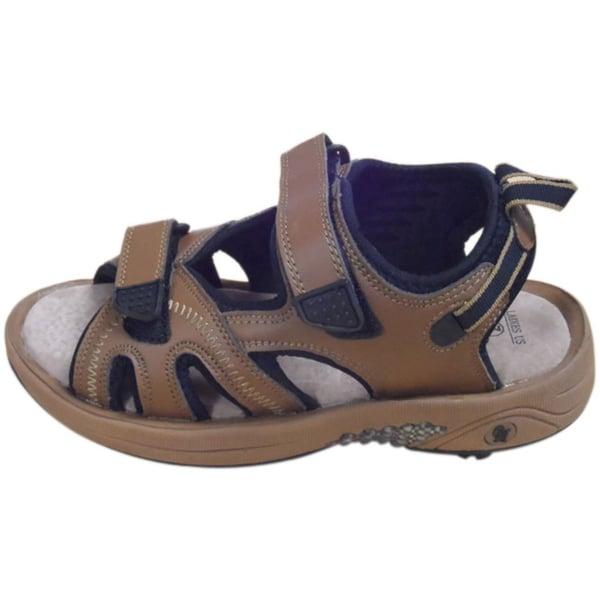 Oregon Mudders Camel/ Black Women's Spiked Golf Sandals