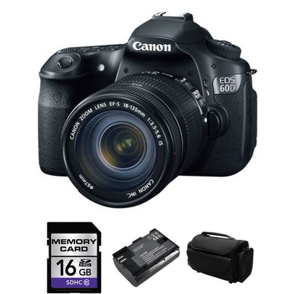 CANON EOS 60D Pro Digital SLR Camera with 18-135mm Bundle