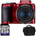 Samsung WB100 16GB Digital Camera with 8GB Bundle