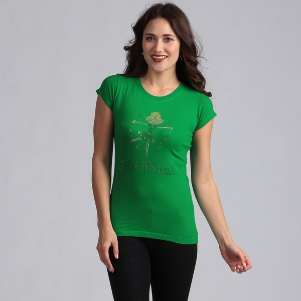 Women's Green 'Irish Princess' T-shirt