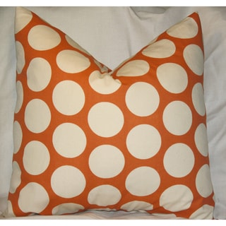 Taylor Marie Sweet Potato Dandi Dot Throw Pillow Cover