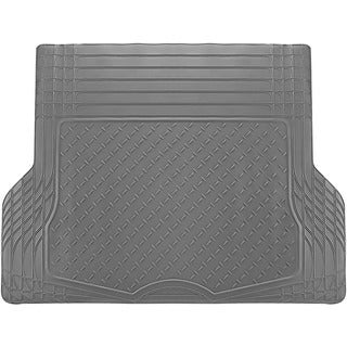 Oxgord Gray Cargo Trunk Liner Rubber Trimmable Mat for Cars, Trucks, Vans, and SUVs