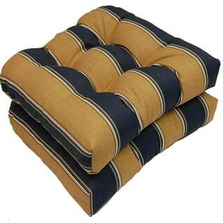 Ada Sripe Marine Outdoor Cushions (Set of 2)