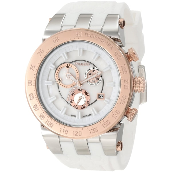 Mulco Unisex Fashion White Swiss Quartz Watch
