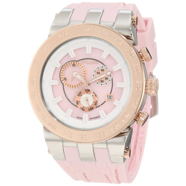 Mulco Unisex Fashion Pink Swiss Quartz Watch