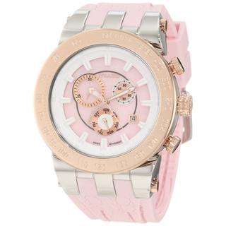 Mulco Unisex Fashion Pink Swiss Quartz Watch