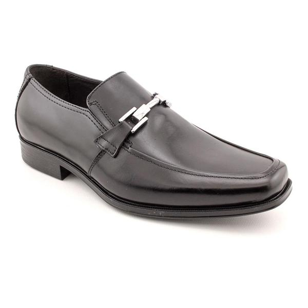 Robert Wayne Men's 'Dan' Leather Dress Shoes - Wide