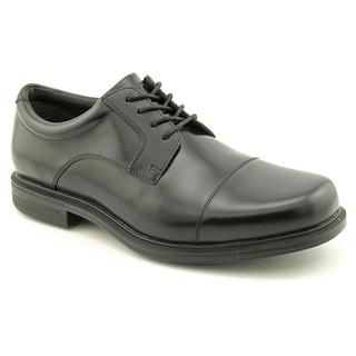 Rockport Men's 'Editorial Offices Cap Toe WP' Full-Grain Leather Dress Shoes