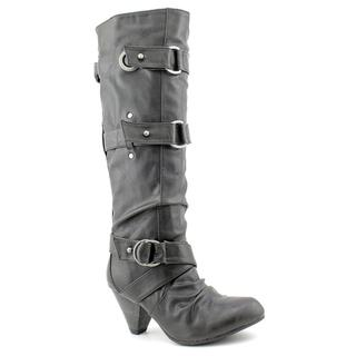 Carlos Santana Women's 'Bailey' Man-made Round-toe Boots