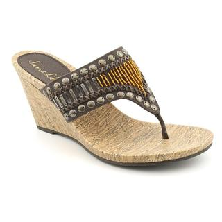 Sam & Libby Women's 'Gemstone' Basic Textile Sandals (Size 7.5)