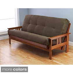 Somette Multi-flex Futon Frame and Mattress Set