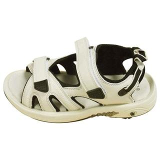 Oregon Mudders Men's Beige/ Black Spiked Golf Sandals